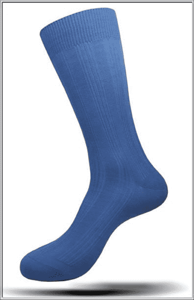 Men's Masculine Mercerized Cotton Angelino Socks
