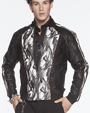 Men's New Fashion Bomber Jacket Brush - ANGELINO