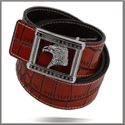 Men's Exciting Fashion Angelino Belts #400 Red - ANGELINO