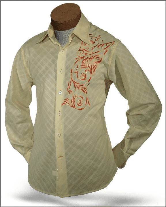 Men's New Fashion Angelino Shirts Giorgio Yellow - ANGELINO