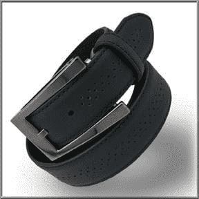 Men's Fashion Angelino Belts 104 Black - ANGELINO