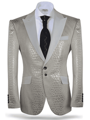 Angelino Sport Coat/Blazer-Valerio Beige cutting edge