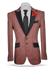 Fashion Sport Coat/Blazer- Grant Rust