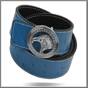 Men's Fashion Angelino Belts - #300 Blue - ANGELINO