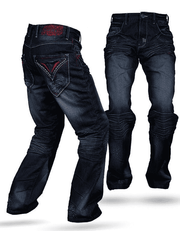 Men's Fashion Angelino Jeans Tito Blue - ANGELINO