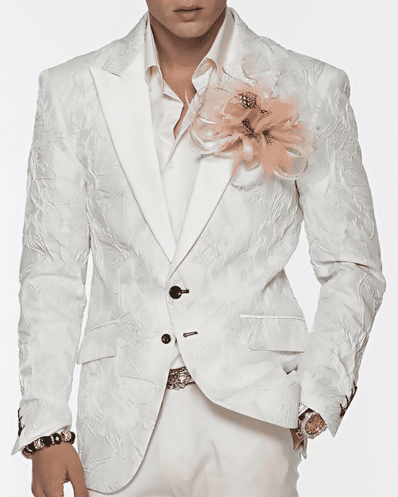 white blazer for men Stylish