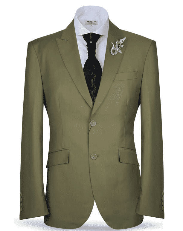 Mens Suit-New Classic Suit2 Henna-34 - ANGELINO
