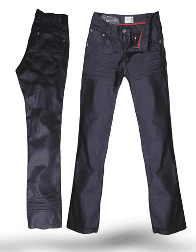Men's Fashion Denim/Jeans Diego Charcoal By Angelino - ANGELINO