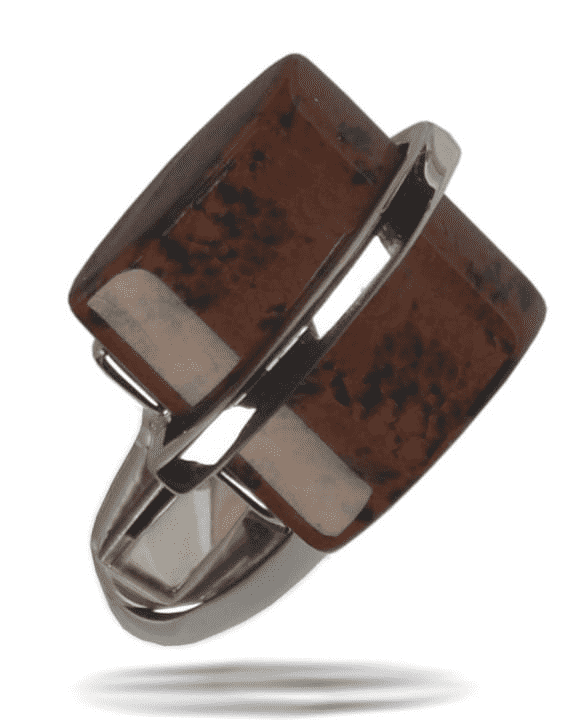 Men's Fashion Angelino Cufflink #14 Brown - ANGELINO