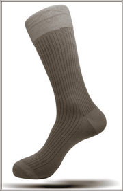 Mens Masculine Mercerized Cotton Angelino Socks
