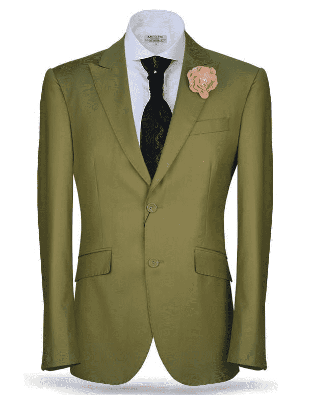 green classic suit