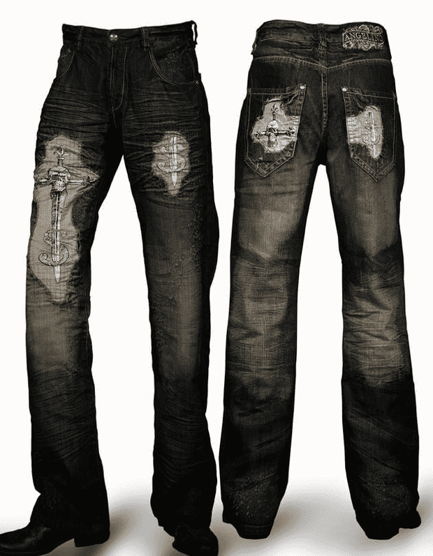 Men's Jeans Fashion - Angelino