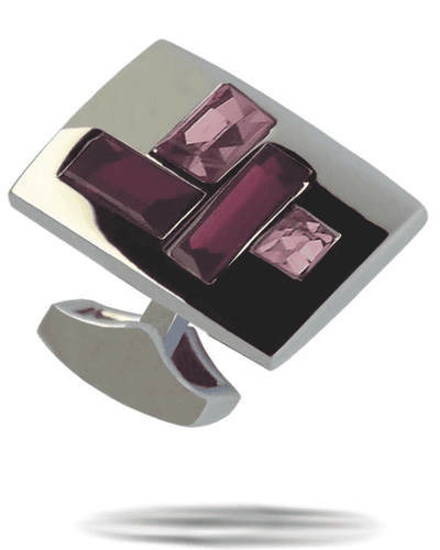 Men's Fashion Angelino Cufflinks #8 Purple - ANGELINO