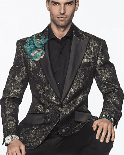 show stopping Fashion Blazer and Sport Coat-Frank Green