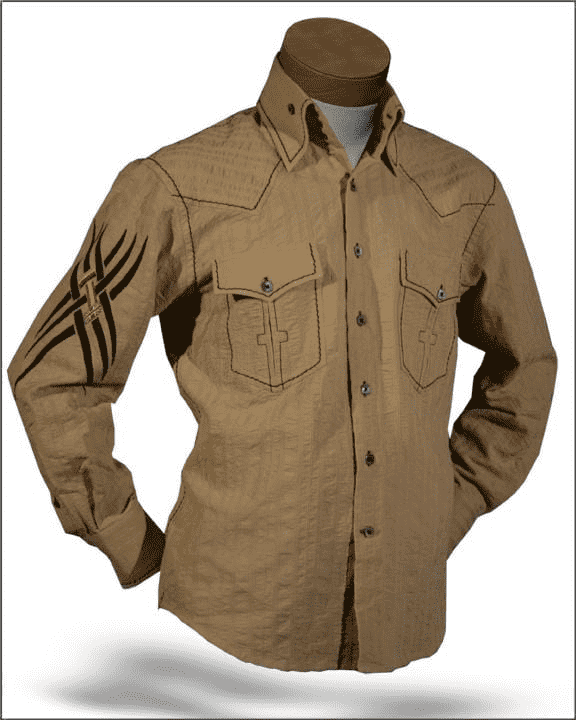 Angelino shirt - Indian Beige
