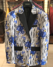 men's cheap blazer, blazer for sale, mens dinner jacket, blue rose blazer