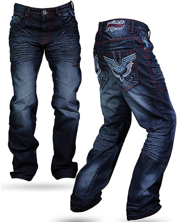 Men's Fashion Premium Angelino Designer Mens Jeans Dino - ANGELINO