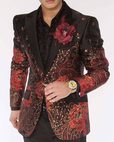 Blazer for Men, F.P. Red - ANGELINO