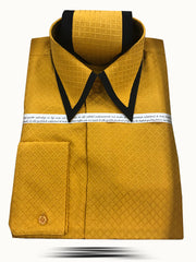Men's Fashion Angelino Silk Shirts SJ Gold