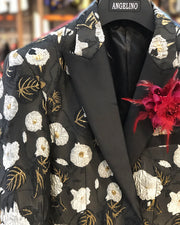 Prom Blazer - Poppy - wedding  - prom - Jackets - ANGELINO
