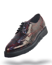 Men's Leather Shoes - London Maroon - Fashion - Men - Style - ANGELINO