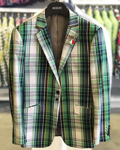 Men's Fashion Blazer, Maurice Geen - Sport Coat - Jacket - Blazer - ANGELINO