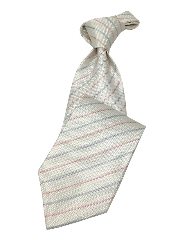 men's silk tie, white ties for wedding and prom,