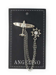 Angelino Lapel Pin Airplane - ANGELINO