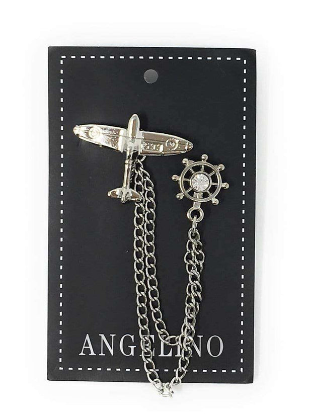 lapel pins for men and women, airplane