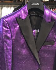 Men's Fashion Suits, Men's Slim Fit Suits, Purple Suits for men