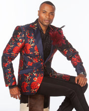 Red prom suit, Navy/red prom blazer with black pants, prom suit 2020,