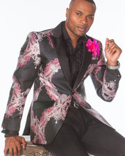 Prom Blazer - Prom Tuxedo - Zeus Pink - Prom suits for guys - ANGELINO