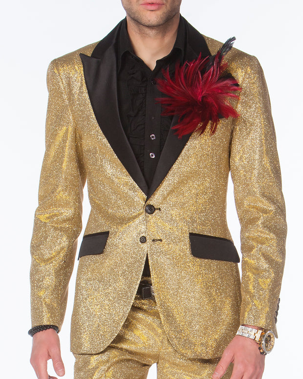Fashion Suit - Cello Gold - Gold Prom Suit - 2020 - Fashion - ANGELINO