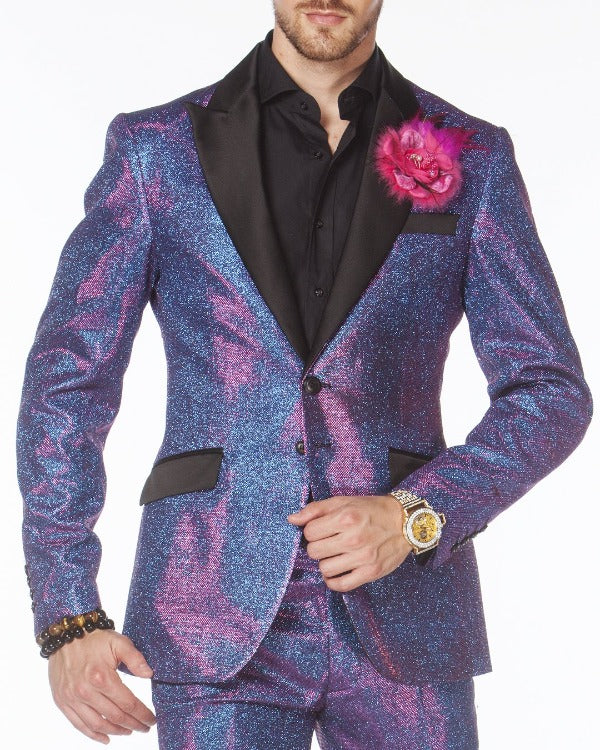 Prom Suit - Cello Purple - Purple Suit - Prom suit 2020 - ANGELINO