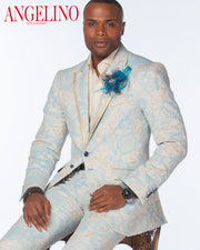 Prom Suit - Baby Blue - Prom Suits 2021 - ANGELINO