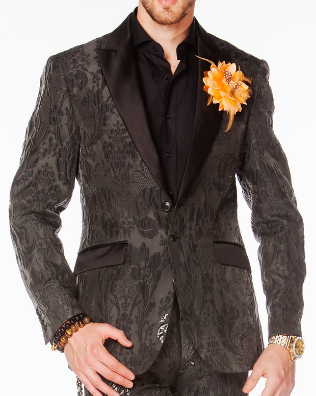 Prom Suit - Victorian Black - Tuxedo - Prom - Suits - ANGELINO