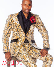 Prom Suits 2020, Sequin Suit, Animal Print Suit covered with clear sequin good for Prom Suit 2020