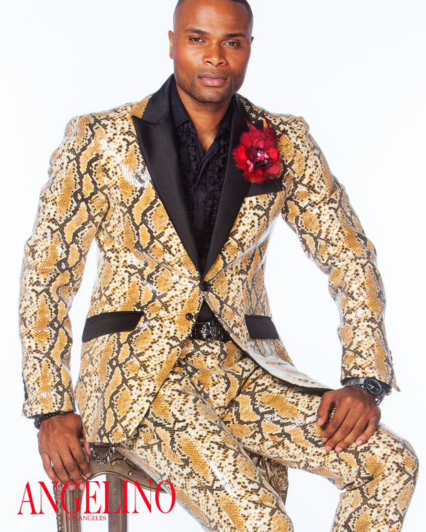 Prom Suit - Sequin Suit - ANGELINO