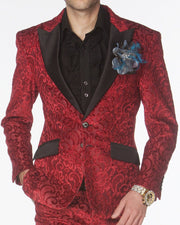 Prom Suit 2020, Red Prom Suit