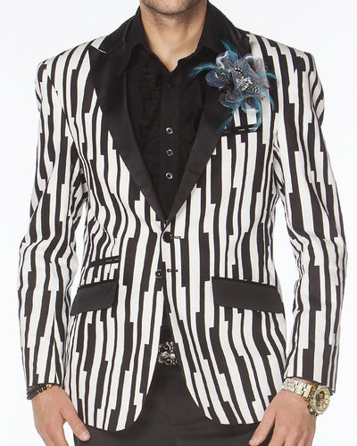 Prom Tuxedo, Prom Tuxedo 2020, Black and White blazer