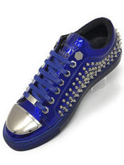 Hot Men's Fashion Sneakers R. Spike Blue - ANGELINO