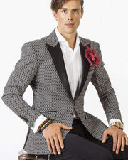 Blazer for men - Reggio- prom tuxedo blazer                                                                           tuxedo-Jacket - ANGELINO