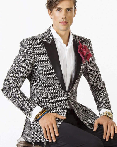 Mens Fashion Blazer - Reggio-          Prom - Tuxedo - Jacket - ANGELINO