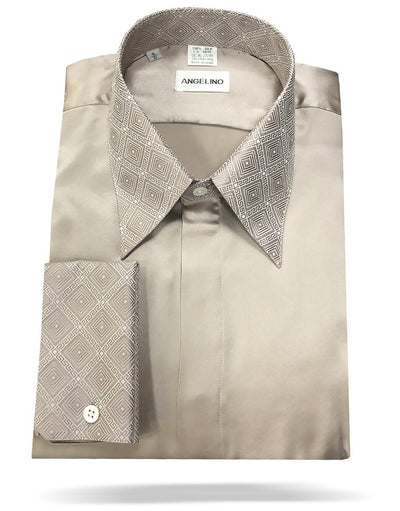 mens silk shirt