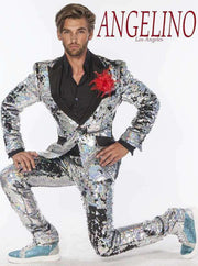 Sequin Suit, R. Sequin Silver -2 - ANGELINO