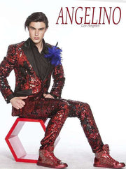 Sequin Suits, New R. Red | ANGELINO