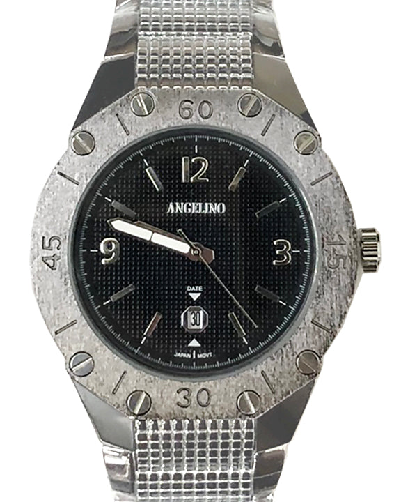 Men's Fashion Watch Titan Black- Mens - Fashion - Accessories - ANGELINO