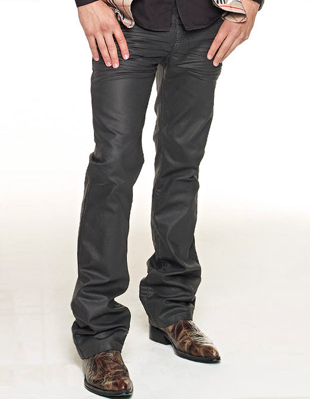 Men's Wax Coated Denim/Jeans - Tino - ANGELINO