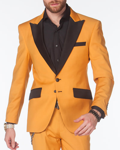 Tuxedo for men, Tuxedo Suit-Tux2 Gold - Prom - Fashion - Mens - ANGELINO