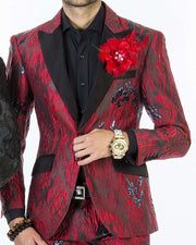 Fashion Suit for men, V Red - Fashion - prom - suits - 2020 - ANGELINO